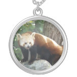 Red Panda Bear Necklace