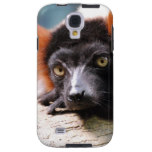 Resting Red Ruffed Lemur Galaxy S4 Case