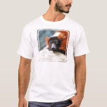 Resting Red Ruffed Lemur T-Shirt