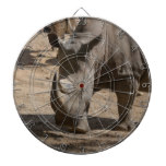 Rutting Rhino Dartboard With Darts