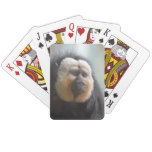 Saki Monkey Playing Cards