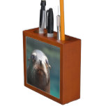 Sea Lion with Whiskers Pencil Holder