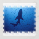 Shark Attack Invitations