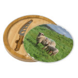 Sheep Family Cheese Board