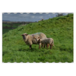 Sheep Family Cutting Board