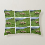 Sheep Family Decorative Pillow