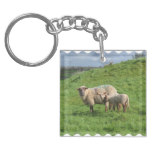 Sheep Family Keychain