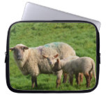 Sheep Family Laptop Sleeve