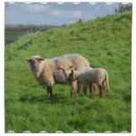 Sheep Family Napkin