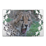 Sleepy Cheetah Cub Travel Accessory Bag