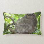 Sloth in Tree Lumbar Pillow