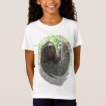 Sloth Photo Design Girl's T-Shirt