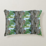Squirrel Hanging in A Tree Decorative Pillow