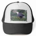 Standing American Bald Eagle Trucker Hat