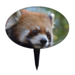 Sweet Red Panda Bear Cake Topper