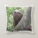 Three Toed Sloth Pillow