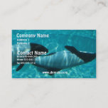 Underwater Whale Business Card