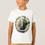White Faced Capuccin Monkey Kid's T-Shirt
