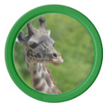 Wild Giraffe Poker Chip Set
