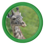 Wild Giraffe Poker Chips