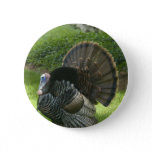 Wild Turkey Round Button