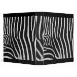 Zebra Patterned Binder