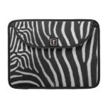 "Zebra Stripe Pattern 13"" MacBook Sleeve"