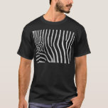 Zebra Stripe Pattern Men's T-Shirt